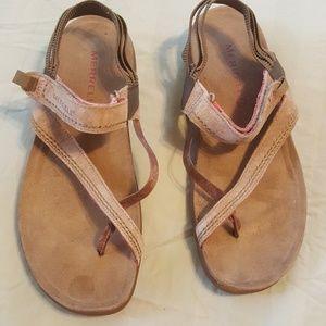 Merrell Sandals Kangaroo  Womens Size 8